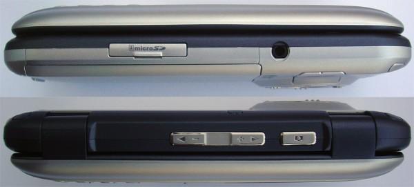 LG VX9900 - Sides