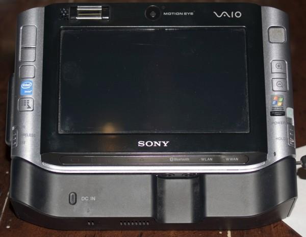Sony UX Series Docked