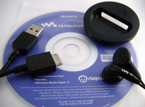 Sony Video Walkman Accessories
