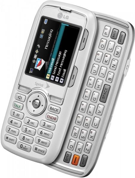 Sprint LG Rumor (White/Silver)