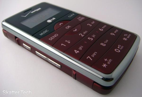 LG enV2 - Verizon Wireless (Front)