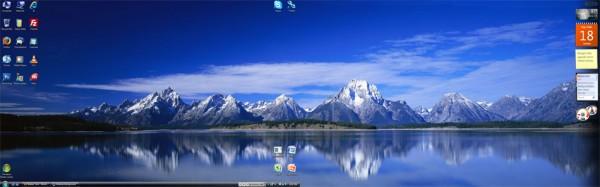 Vista Dual Screen Wallpaper