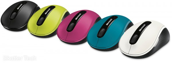 Microsoft Wireless Mobile Mouse 4000 Colors
