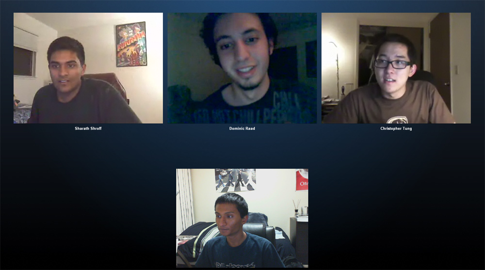 Group Webcam Chat
