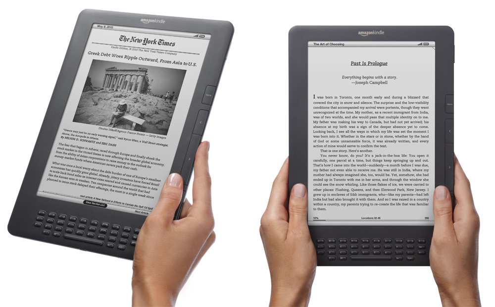Kindle Books Surpass Amazon Hardcover Sales | Skatter