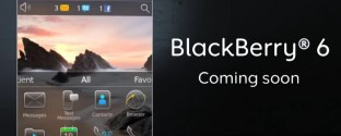 Blackberry 6 Coming Soon