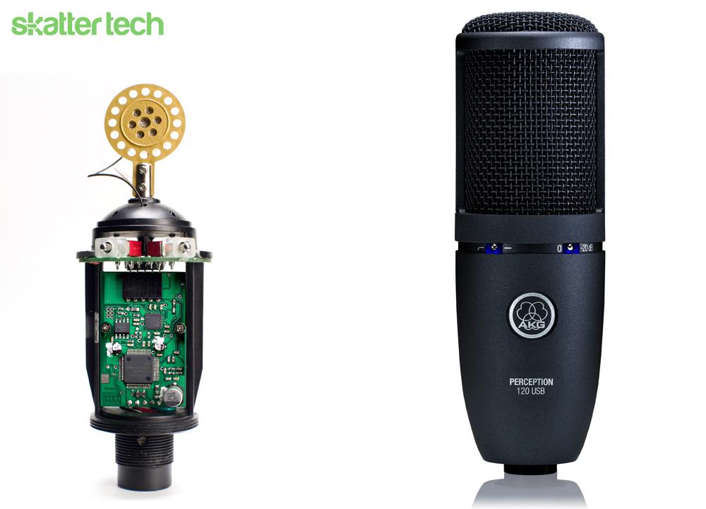 akg perception 120 usb microphone review skatter. Black Bedroom Furniture Sets. Home Design Ideas