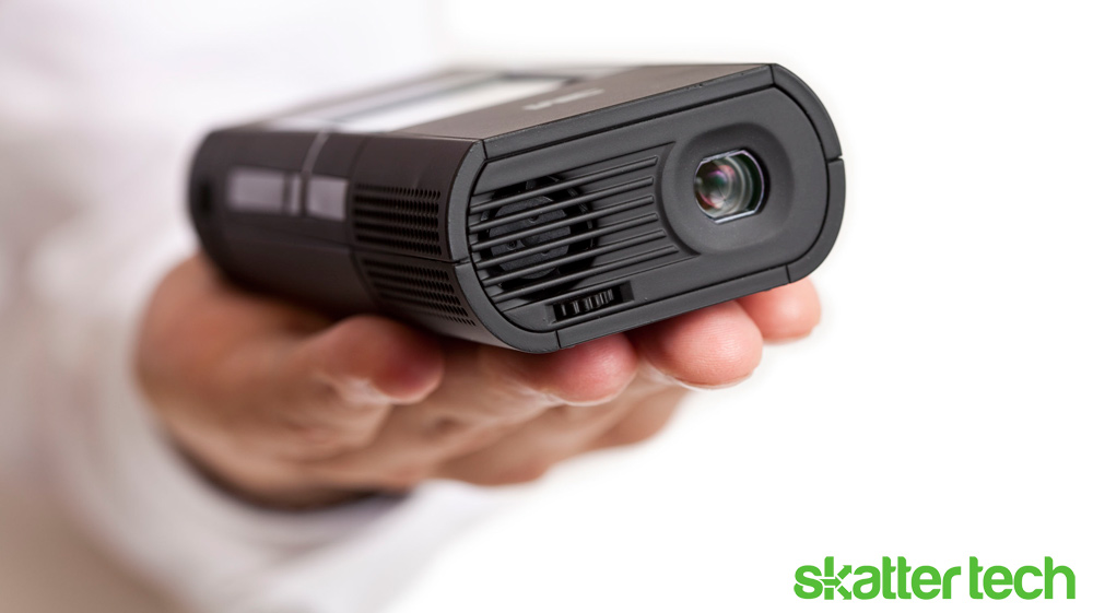 3m launches two new pico projectors skatter for Small powerful projector