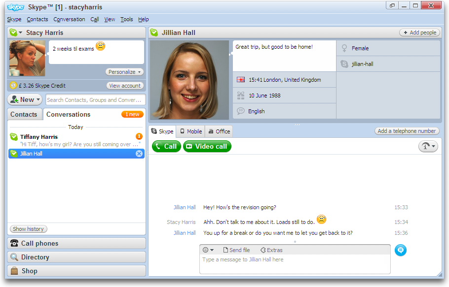 how to call using skype for free