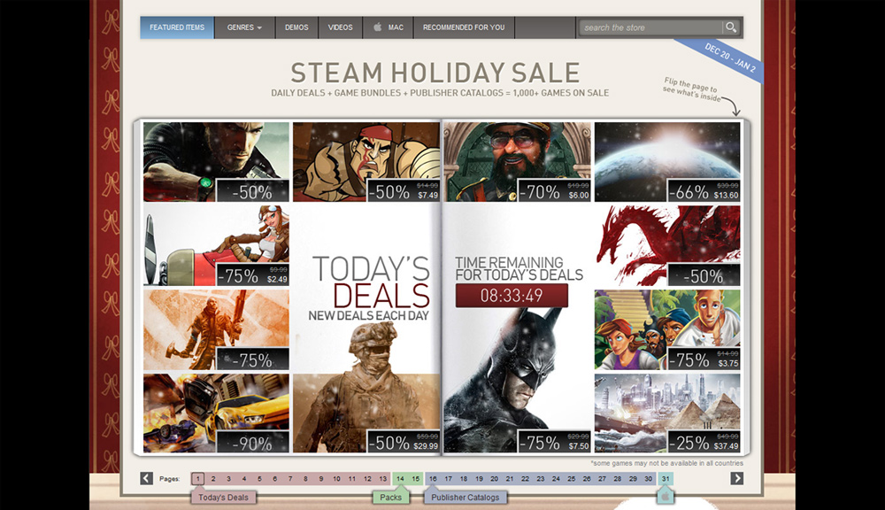 Steam Holiday Sale | Skatter