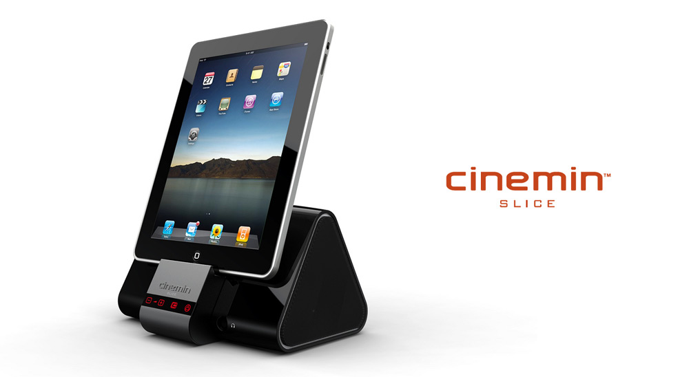 Ces 2011 cinemin slice an ipad pico projector skatter for Ipad projector reviews