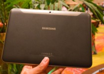 Samsung Galaxy Tab 8.9 Hands On