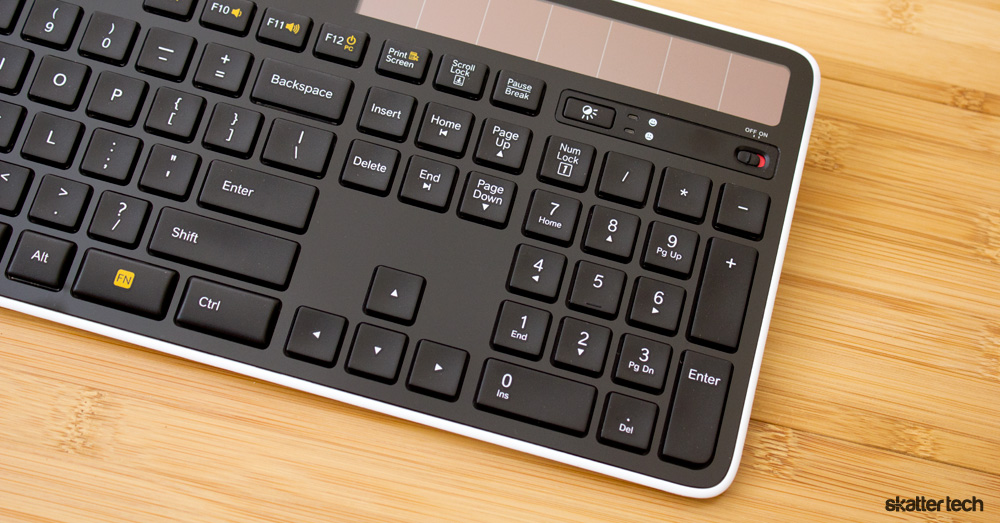 logitech solar wireless keyboard k750 review skatter. Black Bedroom Furniture Sets. Home Design Ideas