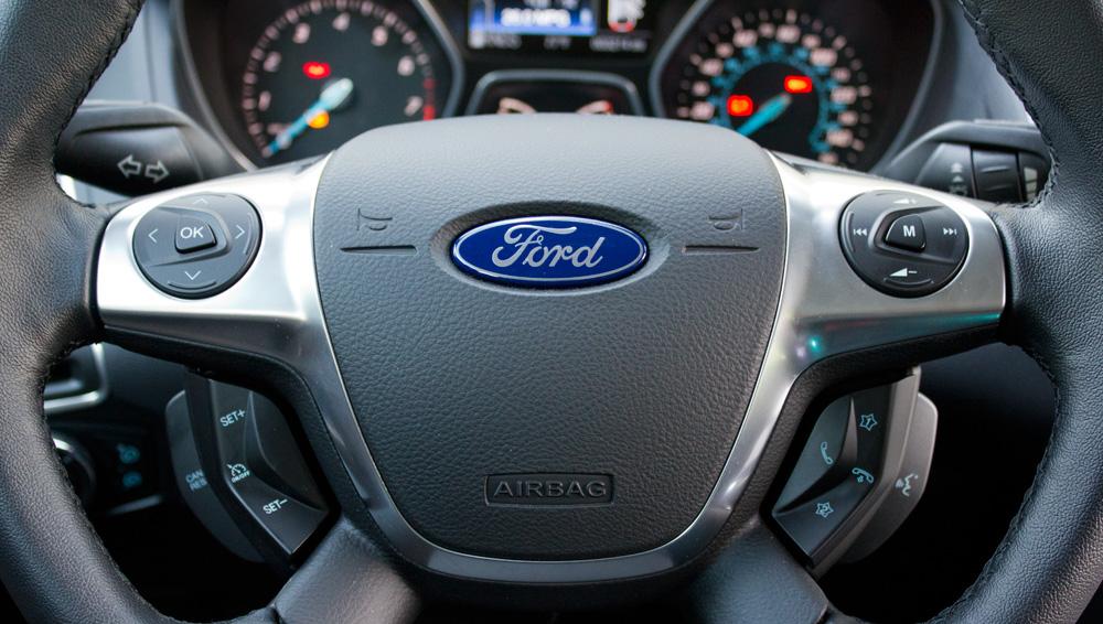 Ford focus racing steering wheel